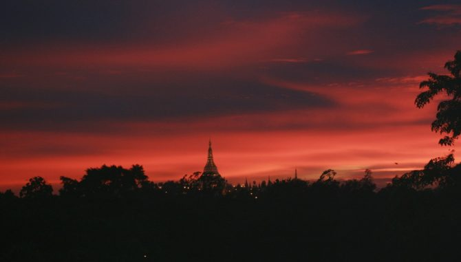Best Places For Sunset in Yangon