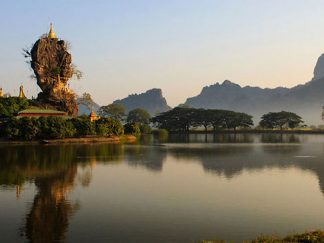 Hpa-An in , Myanmar