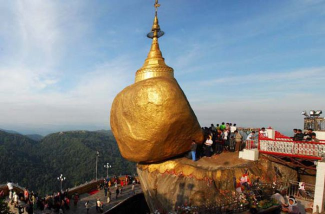Yangon to the magical Golden Rock (Kyaikhtiyoe Pagoda) by Myanmar Travel Agency
