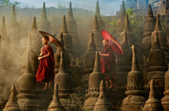 Ancient temples of Mrauk U and the Chin tribe