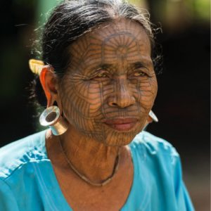 rakhine woman