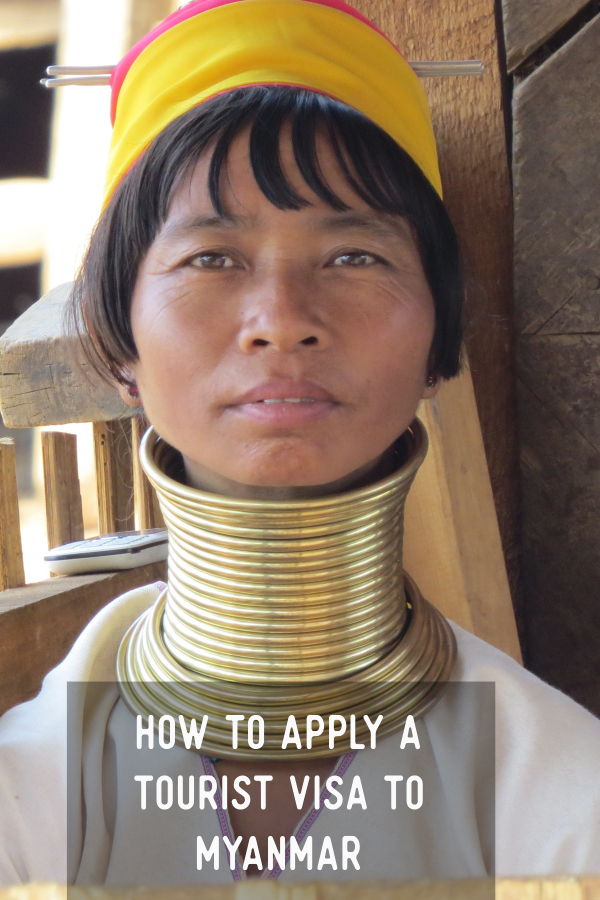 how to apply a tourist visa to Myanmar