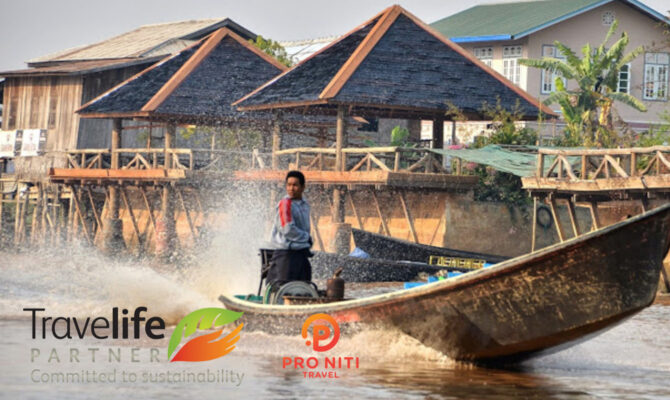Travelife Partner Sustainability Award for Pro Niti Travel : Myanmar Sustainable Tour Operator